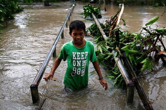 Mehrere Tote : Taifun Nock-Ten wütet auf den Philippinen