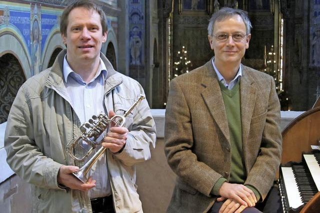 Stephan Börsig und Matthias Degott laden in die St. Marienkirche ein.