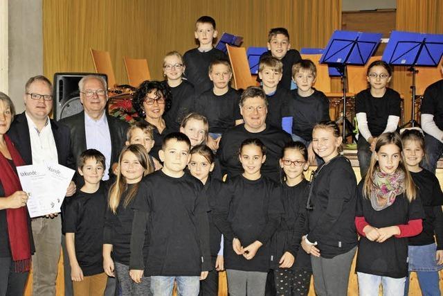 Grundschule und Stadtkapelle rücken zusammen