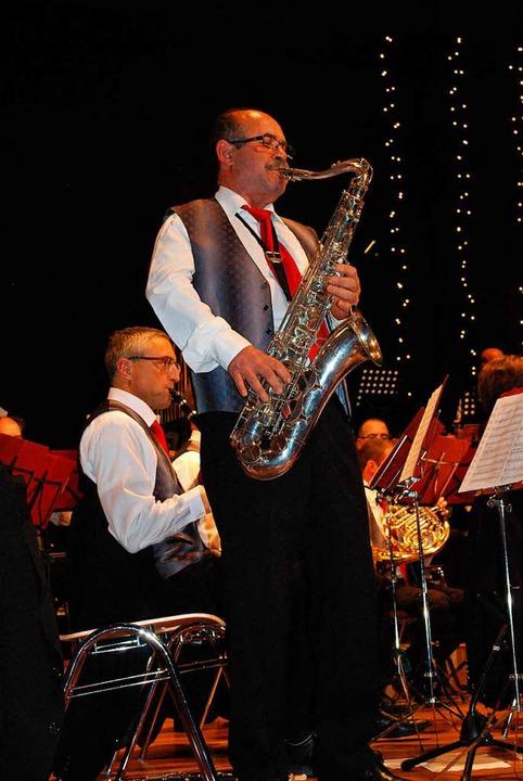 Auftritt fürs Saxophon    Foto: Sylvia-Karina Jahn