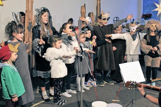 Tierische Unruhe in Bethlehems Stall