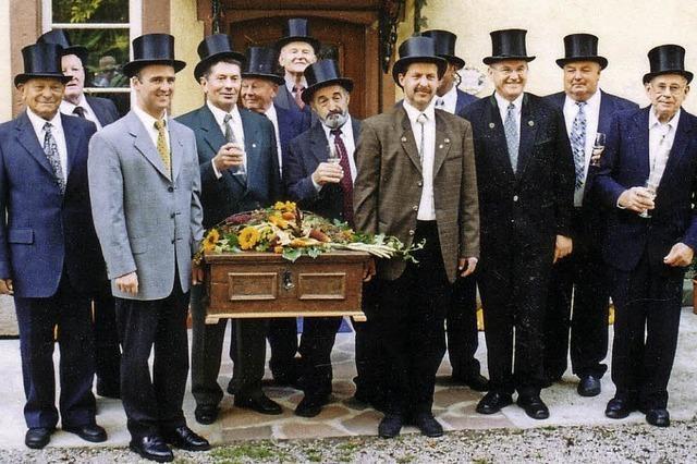 Reb- und Ackerbauzunft feiert am Sebastianustag die Zunfterneuerung