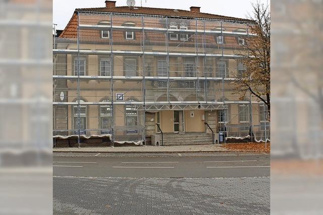 Renovierung des Polizeipostens dauert noch bis Januar an