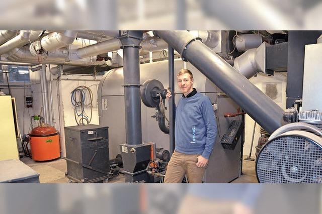Klimaschutzmanager Maximilian Rüttinger sieht für neue Herausforderung Potential