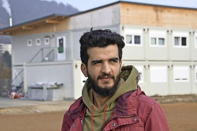 28-Jährige Syrer absolviert Praktikum an der GU, um wieder studieren zu können