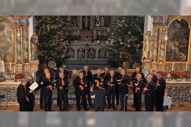 Weihnachtslieder, Wurst und Glühwein