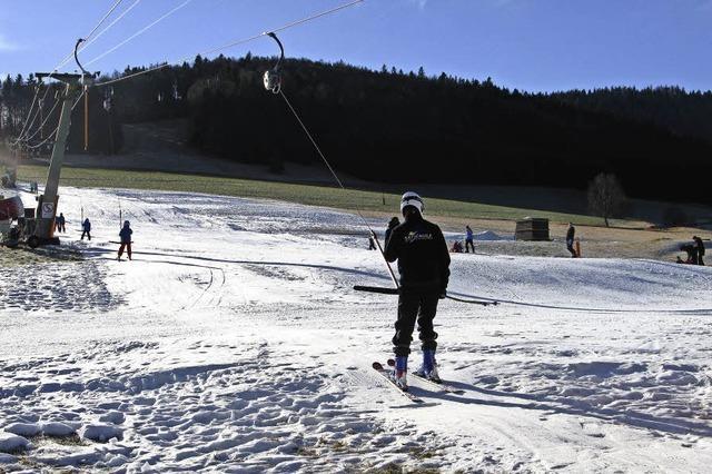 Wintersport in Bernau