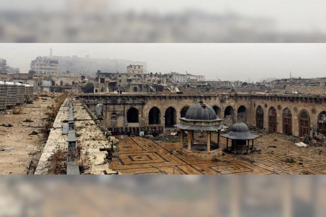 Wie Wissenschaftler an Plänen zum Wiederaufbau zerstörter Kulturdenkmäler in Aleppo arbeiten