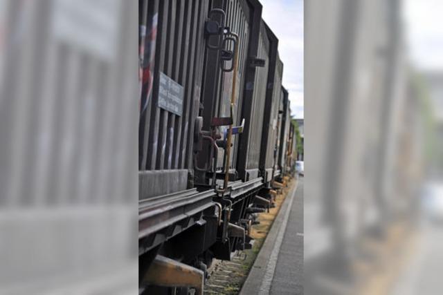 Güterzüge sollen leiser werden