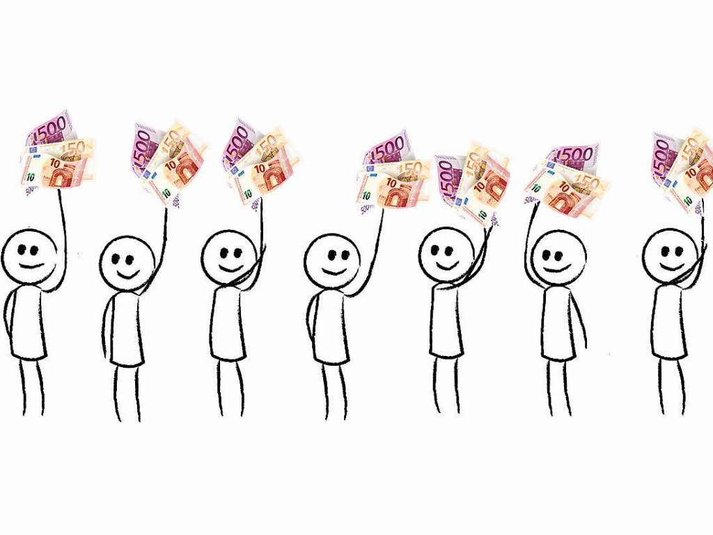 Monatliches Grundeinkommen