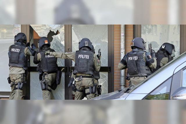 Deutschlands Polizei rüstet auf