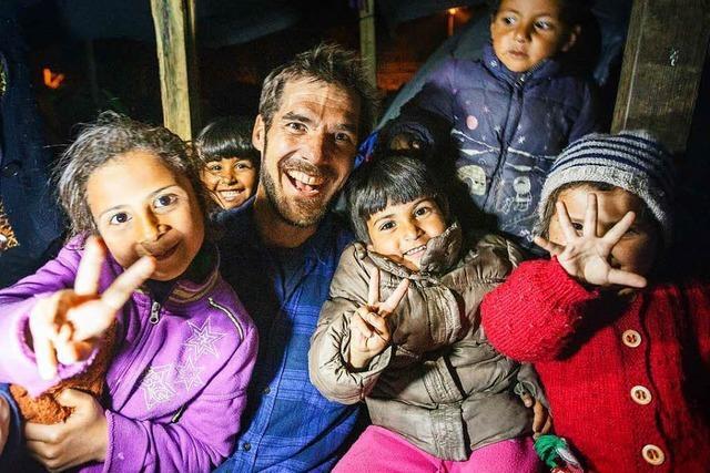 David Lohmüller hat Menschen im Flüchtlingslager Idomeni unterstützt – und fotografiert