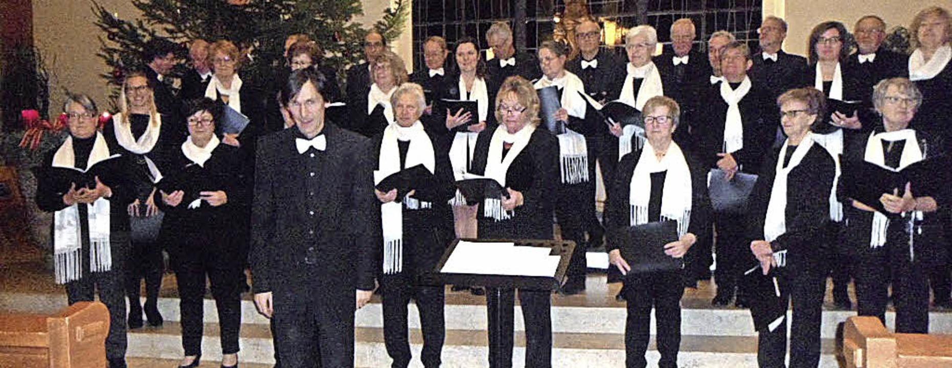 Beim Weihnachts- und Jahreskonzert san...tin Klingler in die Herzen der Hörer.     Foto: Bianca Flier