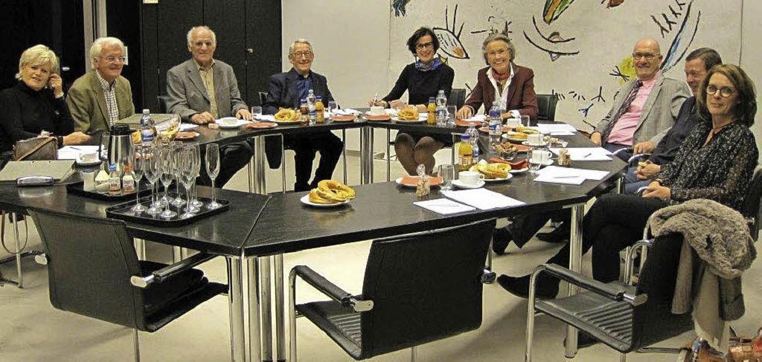 Letzte Vorstands- und Beiratssitzung (...stel Bleß-Eberhard und Josef Erdrich.   | Foto: Freundeskreis