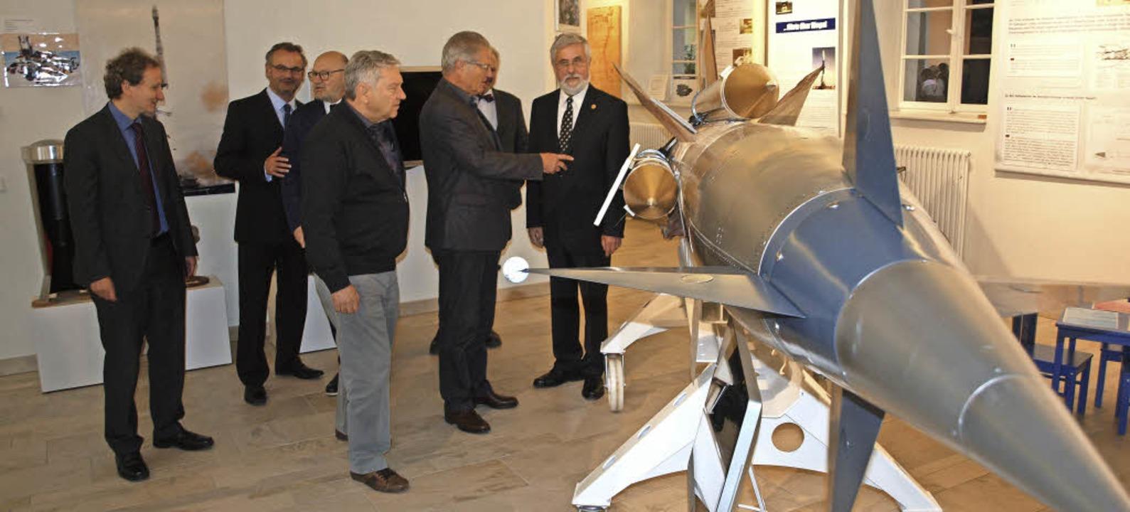 Riegeler Geschichtsvereins feierte 30....d zeigte eine  Parca-Luftabwehrrakete.    Foto: Archivfoto:  haberer