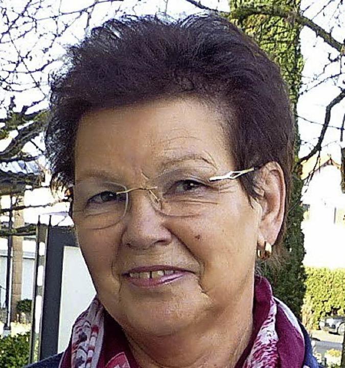 Roswitha Meierhöfer feierte  70. Geburtstag.   | Foto: D. Fink