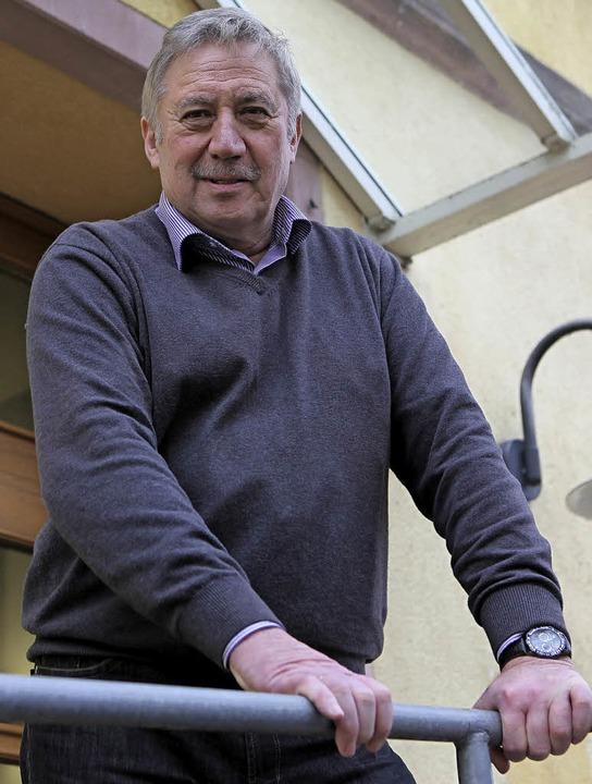 Michael Kleinthomä hat fast 40 Jahre b...fbauamts. Jetzt geht er in Pension.       Foto: Bastian Bernhardt