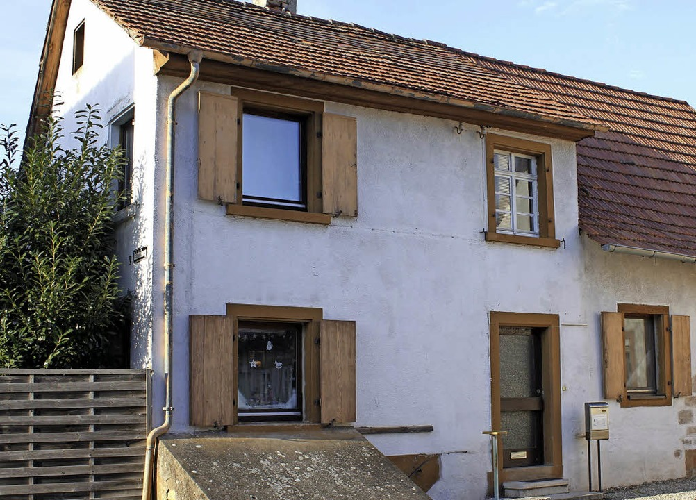 Das frühere Wohnhaus von Ludwig Heilbr...ht noch immer unbemerkt in Ringsheim.   | Foto: Adelbert Mutz