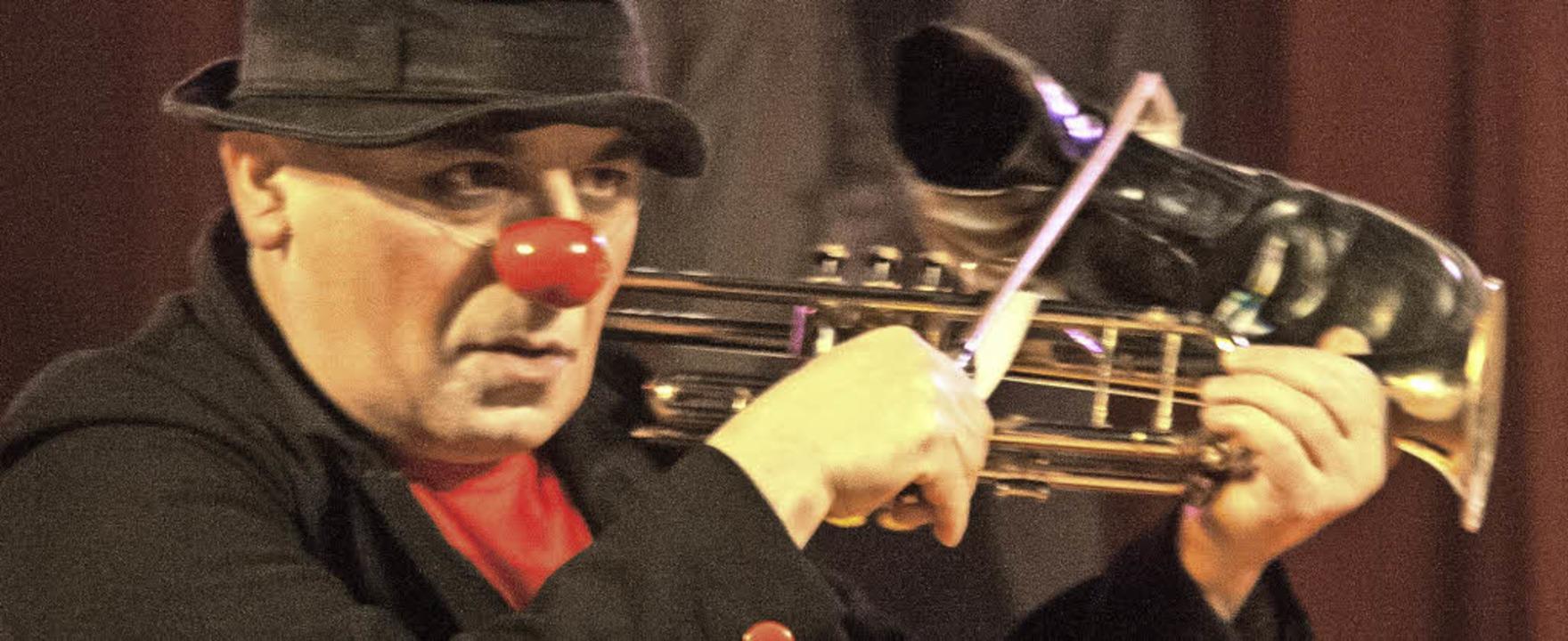 Der Publikumsliebling, Clown Anton, war ein Garant für Lacher.   | Foto: Peter Rosa