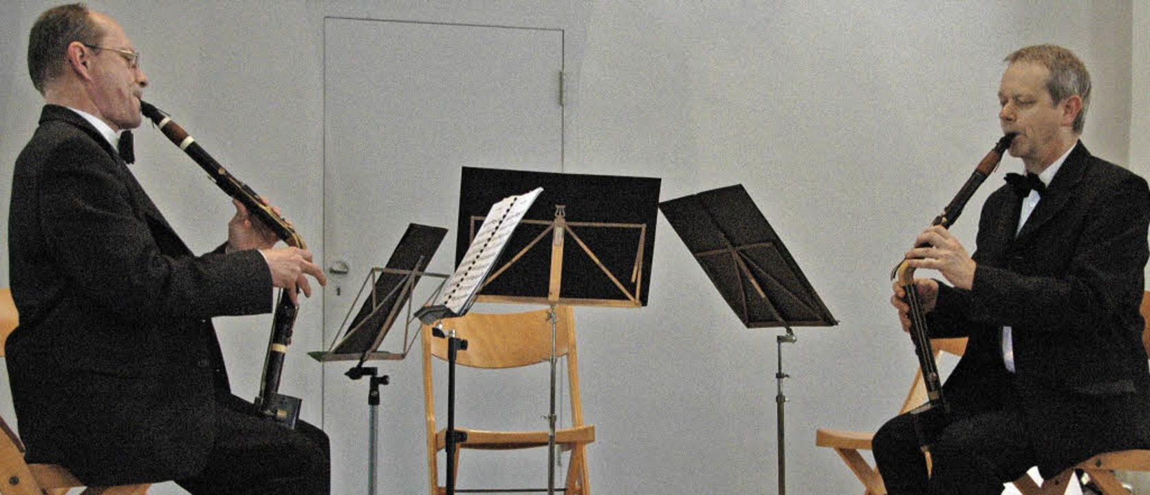 Das erste internatonale Bassetthornfes...tten Bassetthornfestivals in Kandern.     Foto: Regina Ounas-Kräusel