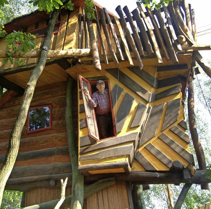Die Idee von  Baumhaushotels in Kreis ...bewerten viele Kreisräte   skeptisch.     Foto: dpa