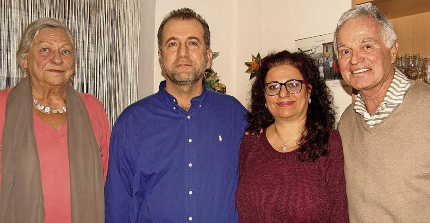 Dler und Susanna Danha (Mitte) haben m...kirch ein gutes Kontaktnetz aufgebaut.    Foto: karin wortelkamp
