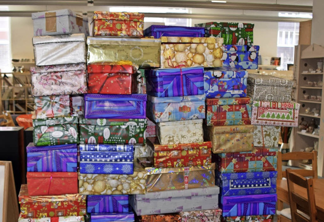 Hunderte Pakete wurden im Secondhandladen in der  Schwarzwaldstraße abgegeben.   | Foto: privat