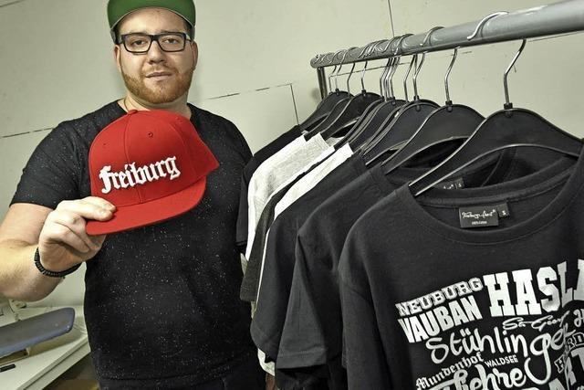 Die Hip-Hop-Szene inspirierte Anton Würmlin zu seinen Freiburg-Textilien