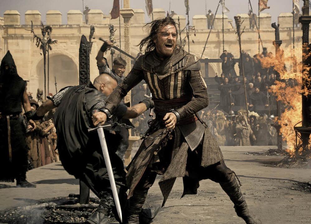 Michael Fassbender als Aguilar    | Foto: Twentieth Century Fox - Ubisoft (dpa)