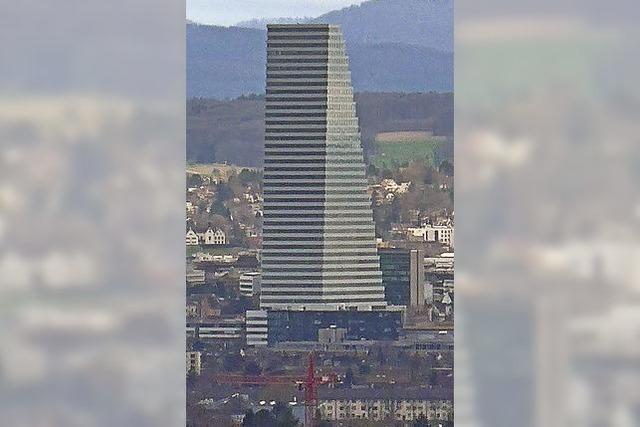 Kaum Diskussionen um Basels höchsten Wolkenkratzer