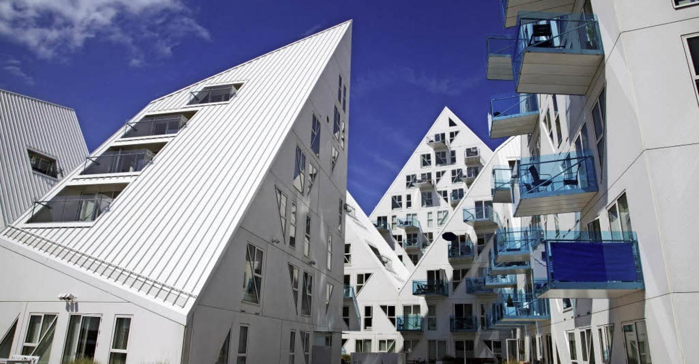 Der Wohnkomplex Isbjerget ist das Wahr...einem jungen Stadtviertel von Aarhus.   | Foto: Kim Wyon (Visit Denmark)