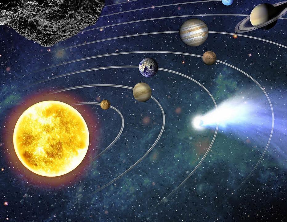 Viele Planeten sind mit bloßem Auge sichtbar.     Foto: Planetarium Freiburg