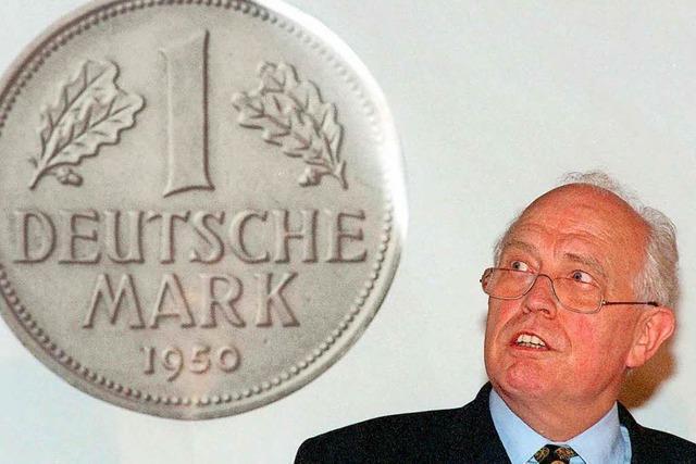 Hans Tietmeyer war eine Ikone stabiler Geldpolitik