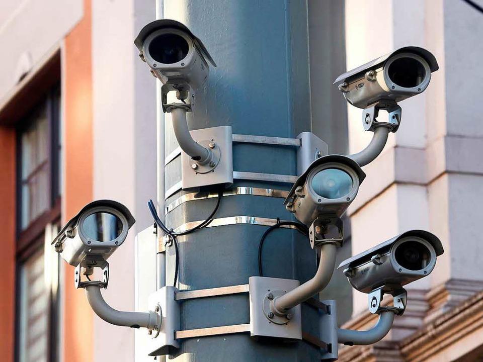 Kameras im öffentlichen Raum     Foto: dpa