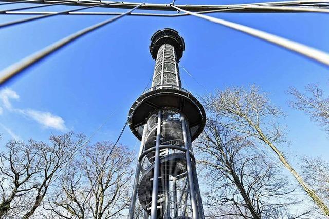Schlossbergturm bleibt auch den Winter über gesperrt