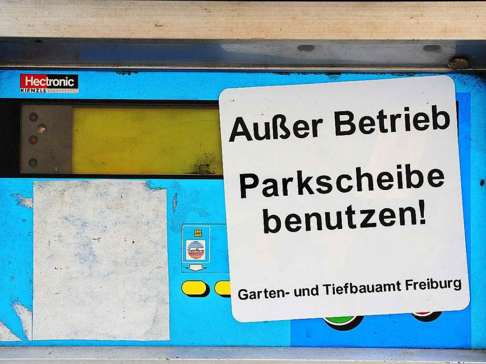 Schutz vor Böllern: Die Automaten werden stillgelegt.  | Foto: Thomas Kunz