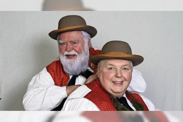 Wildecker Herzbuben, Hansy Vogt und Geri der Klostertaler im Kultur- und Bürgerhaus in Denzlingen