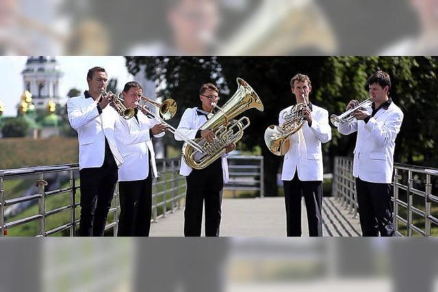 Benefizkonzert: Orgelmusik aus verschiedenen Epochen, Kammerorchester und Blechbläser des Brass Quintet Kiew Academy aus der Ukraine in der Evangelischen Pauluskirche Badenweiler
