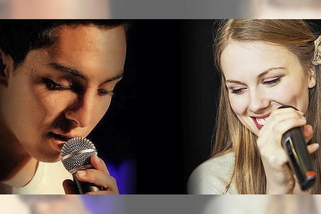 Pianist und Sänger Julian Moehring konzertiert mit der slowakischen Sängerin Ester Wiesnerová in Lörrach