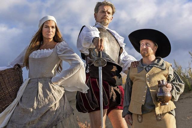 Don Quijote in der Inszenierung des Altoner Theaters