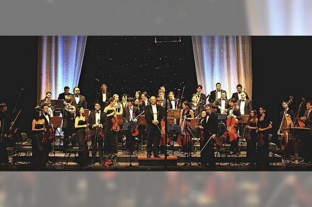 Junge Philharmonie Köln in Müllheim