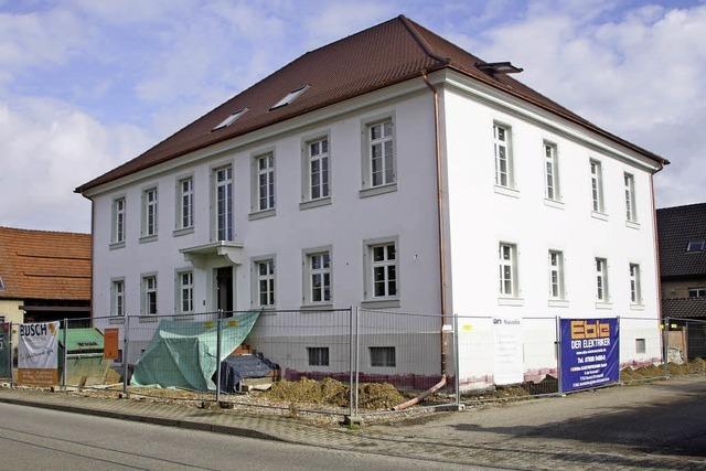 Rathaussanierung und Flüchtlingsbetreuung