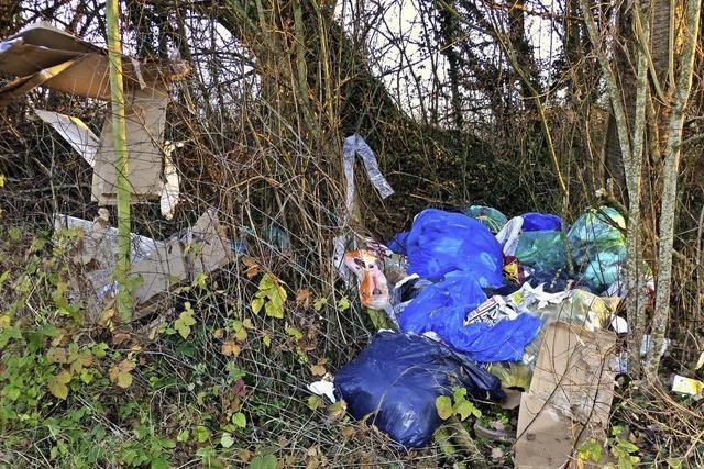 Wo Emmendinger ihren Müll illegal entsorgen