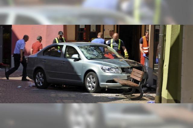 Der schwere Unfall in der Innenstadt
