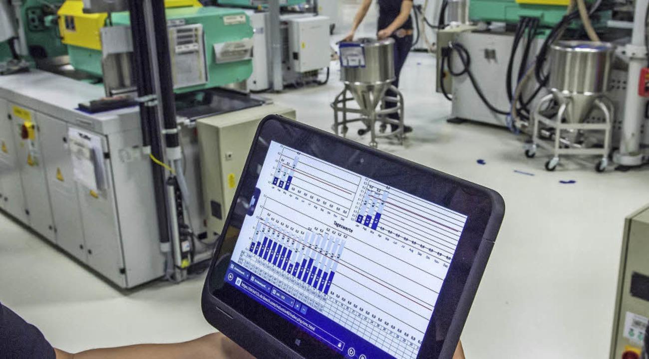 Industrie 4.0: Das Thema Sicherheit wird laut DHBW unterschätzt.   | Foto: dpa