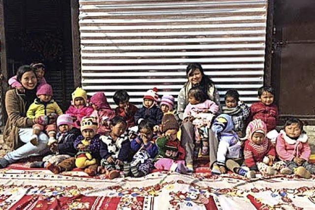 Kindern in Nepal helfen