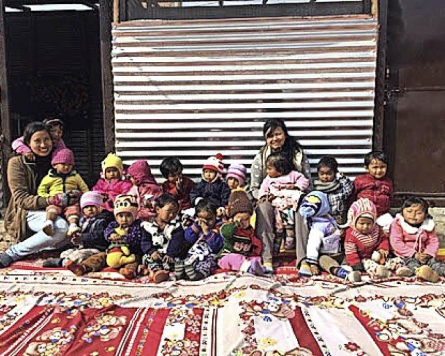 Kinder in Kathmandu   | Foto: zvg