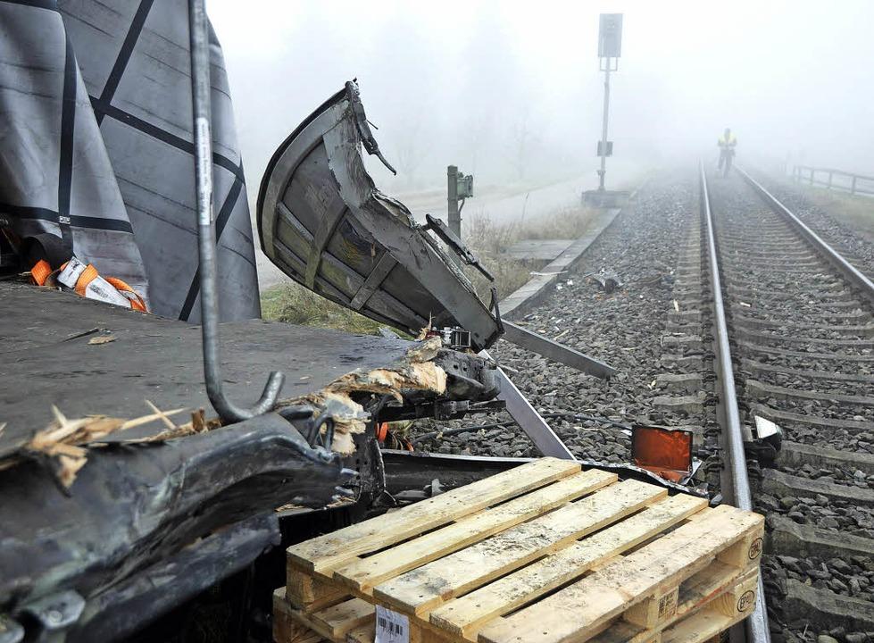 Am 5. Dezember ereignete sich bei Ihringen wieder ein  Zugunglück.    Foto: Johannes burkart