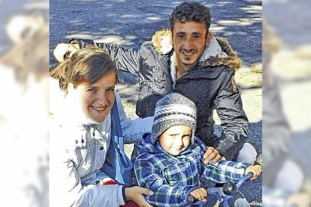 Albanisches Paar wieder in der Heimat