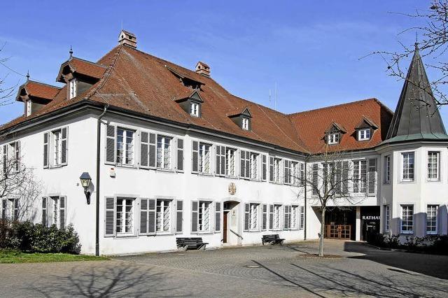 Vogtsburger Rathaus bald mit Aufzug